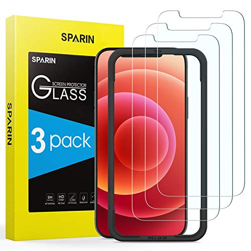 Protector Cristal Templado Iphone 12 Pro Marca SPARIN