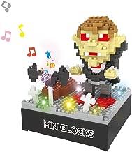 QINGQIU 349pcs Vampire Halloween Building Blocks Set Toy with Music Box for Kids Halloween Treats Party Favors