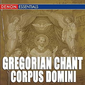 Gregorian Chant: Corpus Domini