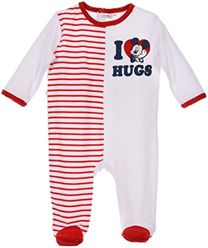 Disney Baby Micky Maus Schlafanzug I Love Hugs Rot 18 Monate