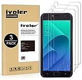 iVoler [3 Pack] Pellicola Vetro Temperato per ASUS Zenfone 4 Selfie ZD553KL 5.5'' [Garanzia a Vita], Pellicola Protettiva, Protezione per Schermo