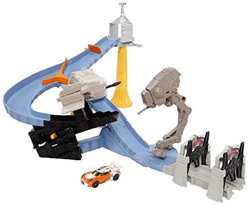Hot Wheels Star Wars Tie Factory Takedown Track Set by