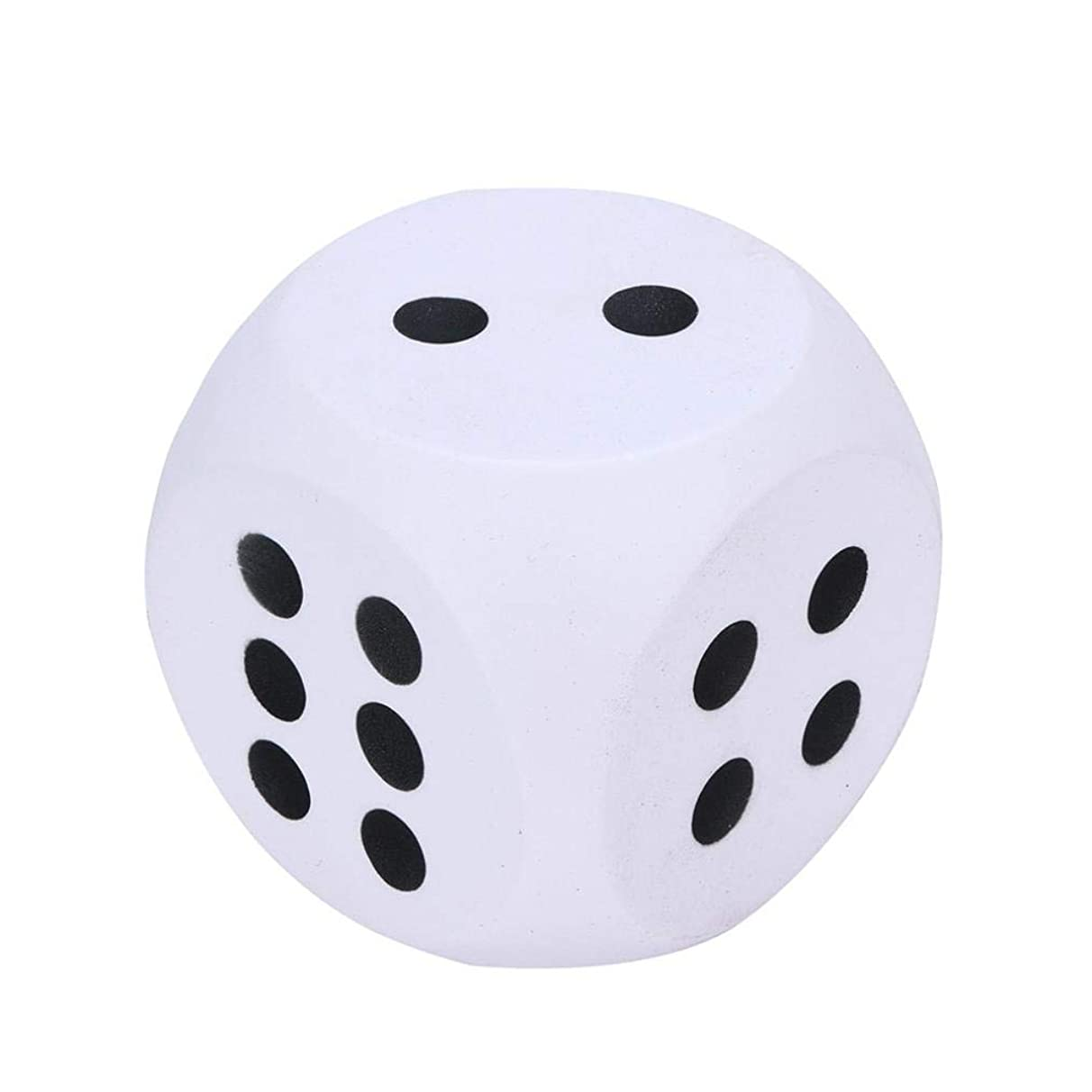 Livoty 10cm Jumbo Dice Toys Slow Rising Cream Squishies Giant Scented Stress Relief Toy
