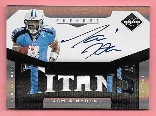 2011 Limited #235 Jamie Harper 3 Autograph Houston Max 62% OFF Mall Card On Patch Color R