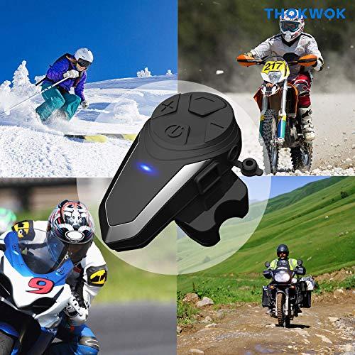Product Image 5: THOKWOK Motorcycle Bluetooth Headset