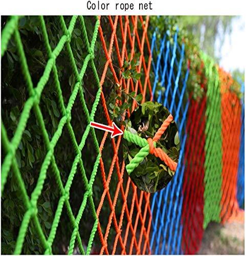 ZGYQGOO Schutznetz 6 mm Dickes Netz Gartenzaunabdeckung Frachtstütze Dekorativer Kinderpool Sicherheitstreppe Balkon Handlauf