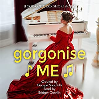 Gorgonise Me audiobook cover art