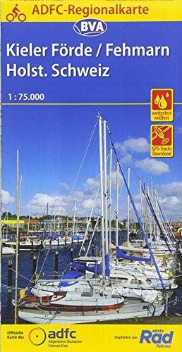 ADFC-Regionalkarte Kieler Förde/Fehmarn/Holsteinische Schweiz mit Tagestouren-Vorschlägen, 1:75.000 (ADFC-Regionalkarte 1:75000)