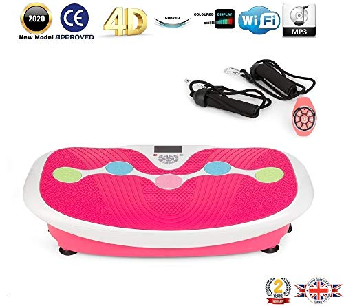 GLOBAL RELAX ZEN SHAPER® PLUS Vibration plate - Pink (2020 new model)...