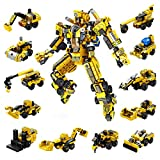 Robot Stem Juguetes De Construcción 12-in-1 573 PCS Educativo Ingeniería Bloques Aprendizaje Kit...