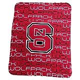 Logo Brands NCAA North Carolina State Wolfpack Classic Fleece, One Size