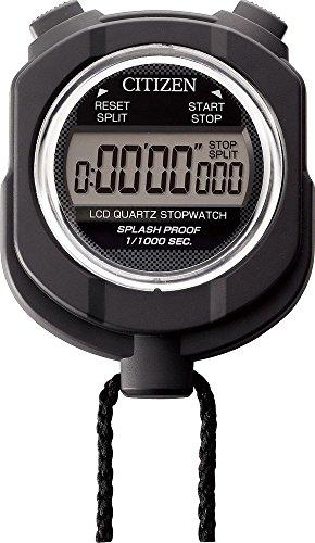 シチズン ストップウォッチ デジタル 055 水 に強い防雨タイプ 黒 CITIZEN 8RDA55-002