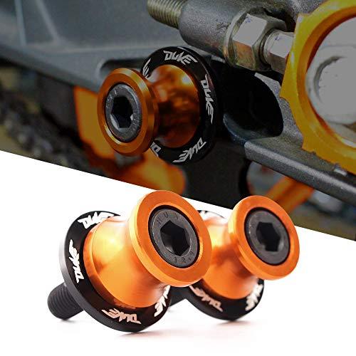 M10 10mm Schwingenschutz Schwingenadapter Ständer Bobbins Spool Racingadapter Ständeraufnahme für K T M Duke 125 200 390 790 990 1190 1090 RC125 RC200 RC250 RC390