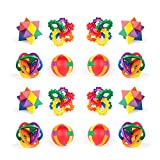Vlish 12 Pack- Fun Puzzle Balls, Party Favors, Goody Bags, Christmas Stocking Stuffers