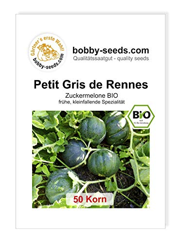 Petit Gris de Rennes BIO-Melone von Bobby-Seeds 50 Korn