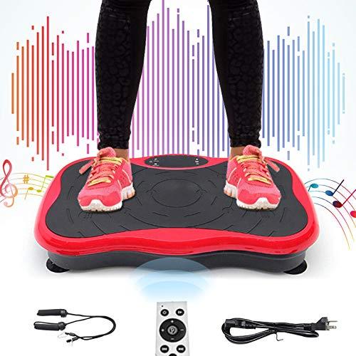 TOPQSC Vibrationsplatte,Vibration Platform Machine Home Slimming Machine,Multifunktionaler Body Shaper,Silent Vibration Plate,Body Shape Trainingsgerät,Physical Health Shaper