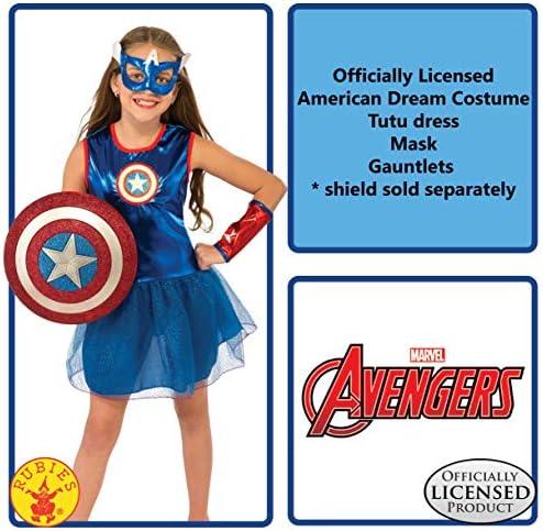 Captain america costume girl _image0