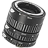 Meike - Anillo macro automático para Nikon D7500 D7200 D7100 D7000 D5300 D5200 D5100 D5000 D3100 D3000 D800 D800 D800 E D700 D600 D300 D300 D90 D80