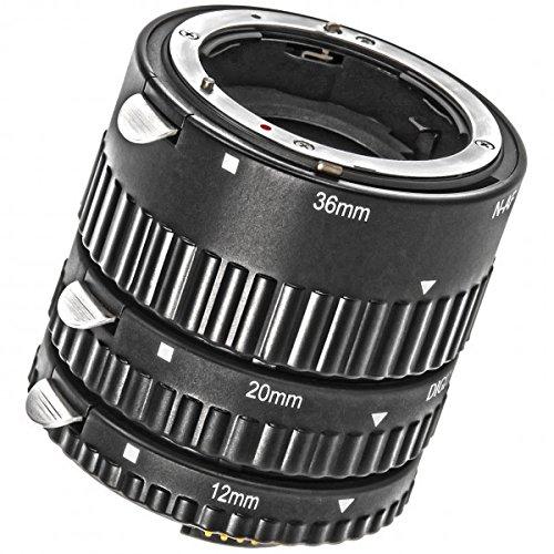 Meike Automatik Makro Zwischenringe fuer Nikon- mit Autofokus-Weiterleitung - MK-N-AF-B für Nikon D7500 D7200 D7100 D7000 D5300 D5200 D5100 D5000 D3100 D3000 D800 D800E D700 D600 D300 D300 D90 D80