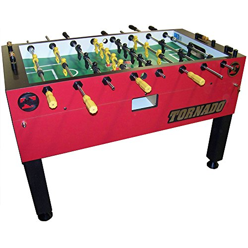 Tornado Red T-3000 1 Goalie Coin Op Foosball Table