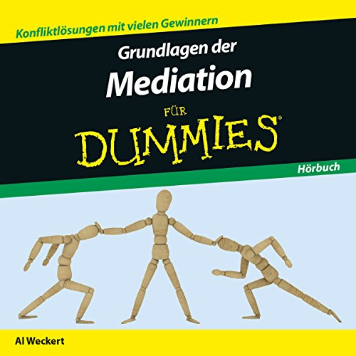 Grundlagen der Mediation für Dummies audiobook cover art