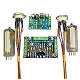 Nrpfell DC12V Scheda Canale Driver Stereo 6E2 Un Doppio Canale per Indicatore Driver Indicatore di Livello DIY Amplificatore Audio Fluorescente