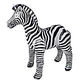 Jet Creations Zebra Inflatable Plush Stuffed Animal. Gifts for Kids,...
