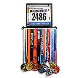 yummyfood Medallero Colgador de Carreras Medal Holder Display Hanger Rack Running Medal Hanger para Gimnastas