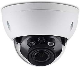4MP PoE IP Camera Dome OEM IPC-HDBW4433R-ZS, 2.7mm~13.5mm Motorized Varifocal, IR Night Vision Security Camera with H.265 Encod,120dB WDR,ICR,3D DNR,Micro SD Slot