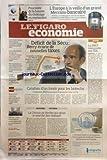 FIGARO ECONOMIE (LE) [No 20292] du 27/10/2009 - DEFICIT DE LA SECU - BERCY ECARTE DE...