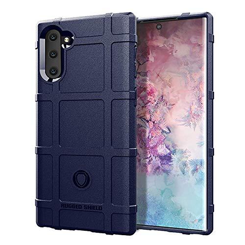 Carcasa compatible con Samsung Galaxy Note 10, carcasa de silicona mate para teléfono móvil, ultraligera, flexible, de silicona, antiarañazos, antigolpes, carcasa de silicona suave azul Talla única