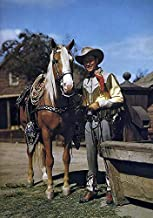 Roy Rogers - Trigger - Movie Star Portrait Poster