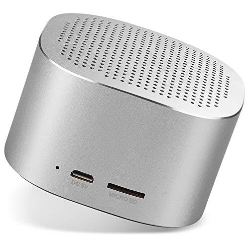 Byx- Draagbare, draadloze Bluetooth-luidspreker - mobiele mini-stereo-kaart van metalen behuizing subwoofer-handsfree installatie @