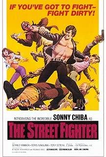 The Street Fighter Movie Poster (27 x 40 Inches - 69cm x 102cm) (1975) -(Sonny Chiba)(Gerald (Waichi) Yamada)(Tony Cetera)(Doris (Yutaka) Nakajima) by MG Poster