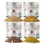 Chuck's Flavor Train Collection | 4 Gourmet Seasonings, Spice Blends & Rubs | All Natural ...