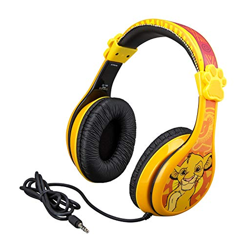 Lion King Adjustable Stereo Tangle-Free Headphones $11.96 (52% Off)