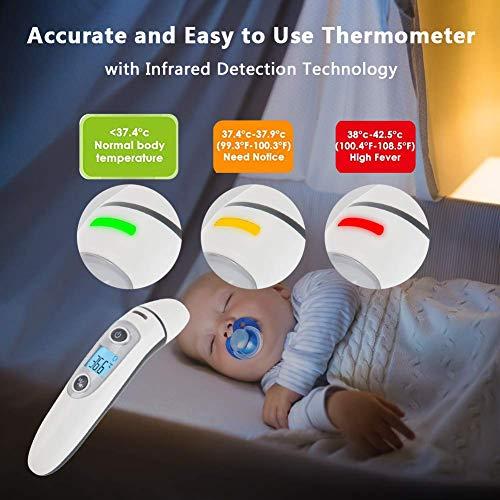 Bébé Thermomètre, Médical Numérique Infrarouge Frontal et Oreille