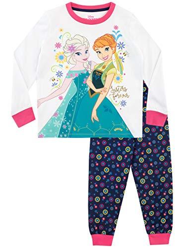 Disney Mädchen Frozen Die Eiskönigin Schlafanzug Mehrfarbig 110