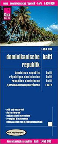 Dominikanische Republik, Haiti = Dominican Republic, Haiti = Republique Dominicaine, Haiti = Republica Dominicana, Haiti = Dominikanskaia Respublika, Gaiti by Reise Know-How Verlag (2015-01-01)