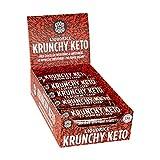 Crunchy Keto Bar (15x35g) - High Fibre Low Carb All Natural No Sugar - Liquorice