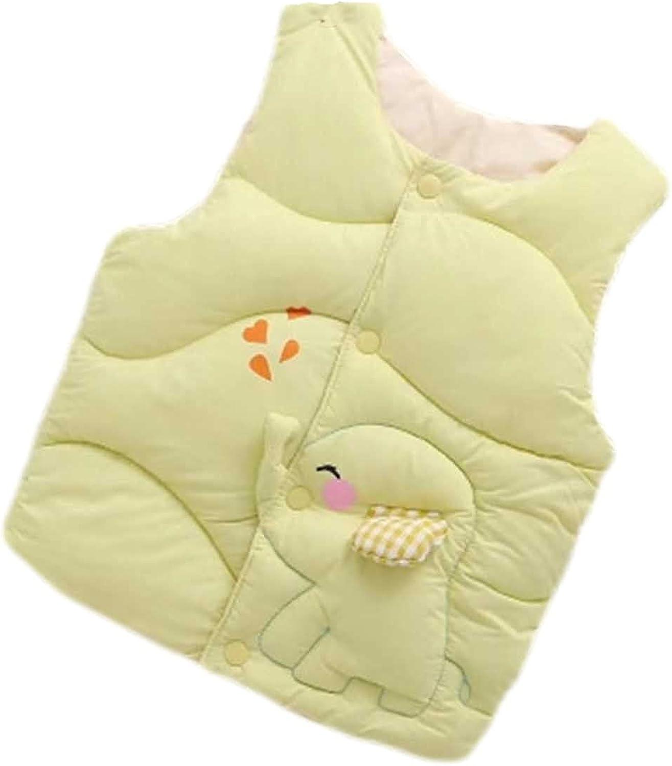 Winter Boys Thicken Vest, Children Vest Jacket, Cotton (6months-6 Years) Girls Cute Warm Waistcoat Kids Outerwear Jackets