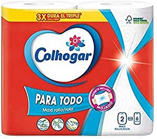 COLHOGAR papel de cocina mega XXL paquete 2 uds