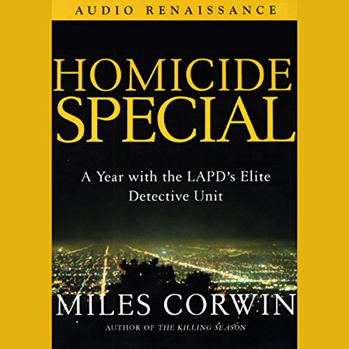 Homicide Special Audiobook By Miles Corwin cover art