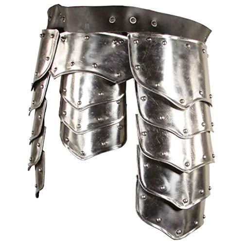 ANTIQUE NAUTICALS Warrior Tasset - Cinturn de armadura (talla M)