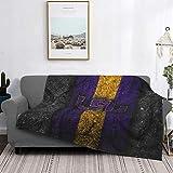 LSU Tigers University Ultra Soft Blanket Warm Cozy Fluffy Air Conditioner Quilt Luxury Sofa Blanket Office Blanket