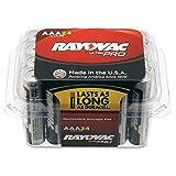 Spectrum Brands RAYALAAA24F Rayovac ALAAA-24F Mercury Free Alkaline Batteries, AAA 24 Pk