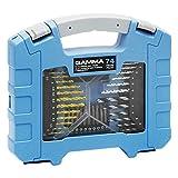 Kit de 74 Acessórios para Parafusadeira e Furadeira, Gamma Ferramentas G19515AC