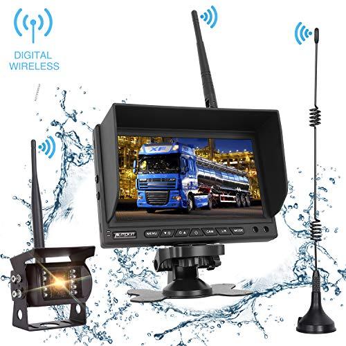 PUMPKIN Digital Wireless Backup Camera System Kit...
