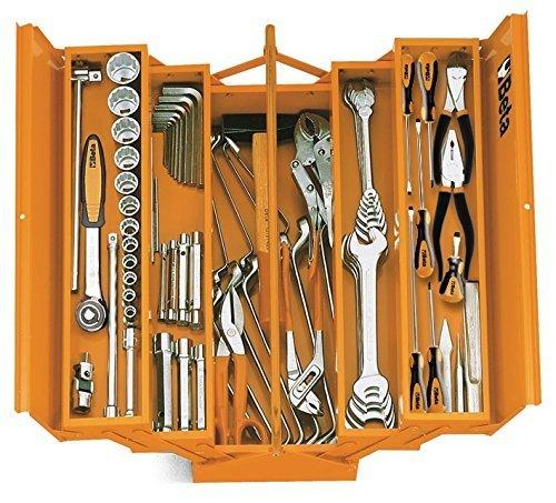 Beta C20L - Caja de herramientas (metal), color naranja