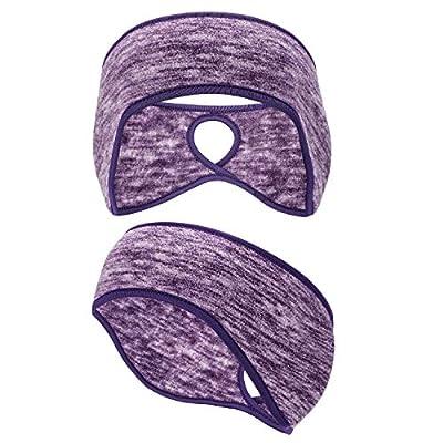 Oumers Damen Pferdeschwanz Stirnband